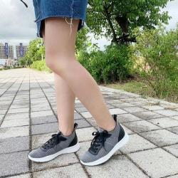 【WYPEX】S18-57:裝飾綁帶經典刷色編織休閒鞋