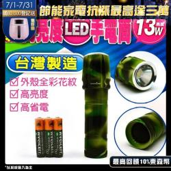 TW焊馬 CY-H5802 單顆高亮度LED手電筒 1入