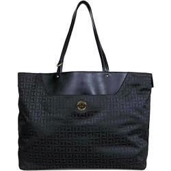 Tommy Hilfiger 2020女時尚標誌黑色拉鍊手提包