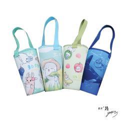 ㄇㄚˊ幾兔 授權文創商品◆麻幾搖搖杯提袋(2入)