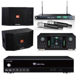 金嗓 CPX-900 A5電腦伴唱機 4TB+FNSD NO-1 擴大機+ACT-869 PRO 無線麥克風+KB-4310M 主喇叭