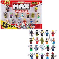 MAX BUILD MORE 創意積木 含15個公仔 1塊積木 兼容LEGO