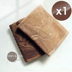 HKIL-巾專家 MIT獨家專利技術咖啡紗浴巾-1入組