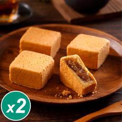 【太陽堂】香酥鳳梨酥禮盒2盒組(12入/盒 附提袋)