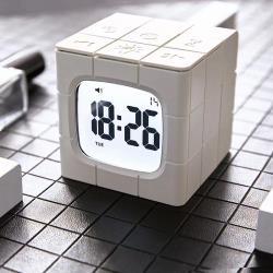 HY鴻鷹科技智能魔術方塊鬧鐘