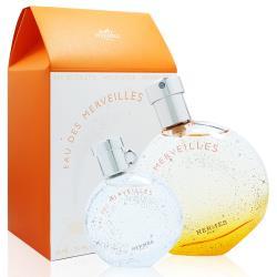 HERMES愛馬仕 橘采星光淡香水禮盒(50ML+7.5ML)