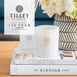 【Tilley 百年特莉】澳洲原裝微醺大豆香氛蠟燭 240g (共7款可任選)
