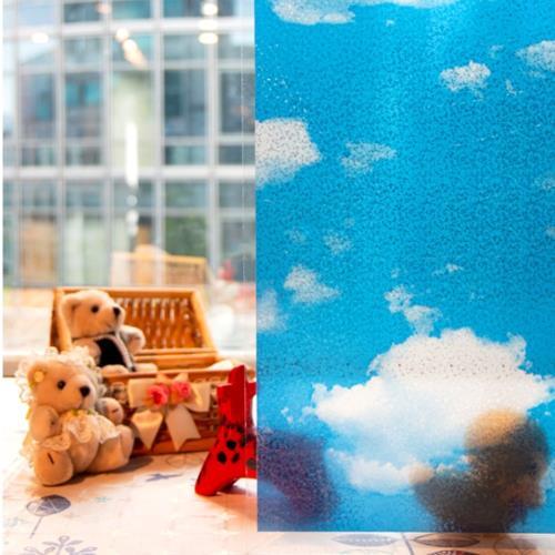 【meiwa】日本明和阻隔UV窗貼-天空92*100CM