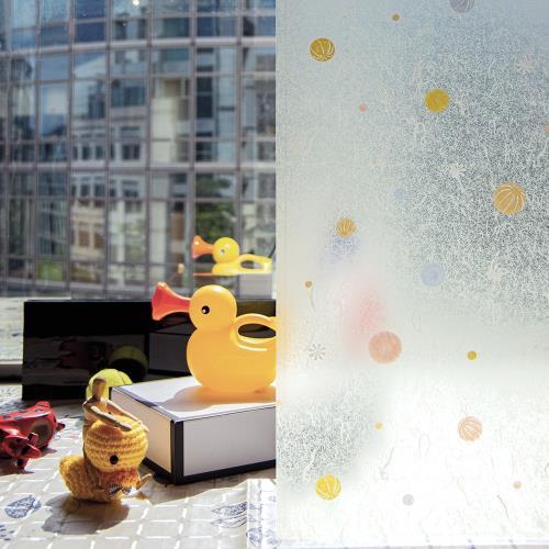 【meiwa】日本明和阻隔UV窗貼-柑仔糖92*100CM