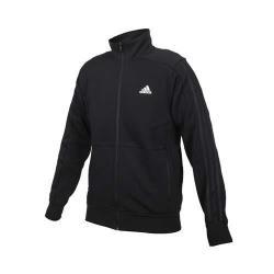 ADIDAS 男運動外套-立領外套 慢跑 亞規 愛迪達 訓練 針織