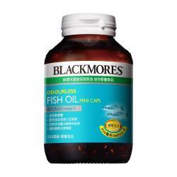 澳佳寶Blackmores 無腥味濃縮深海魚油迷你膠囊200錠x2瓶(共200錠)