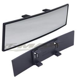 omax頂級廣角鍍鉻曲面後視鏡300mm(LY-103)-1入
