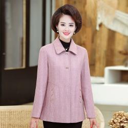 【艾洛妃】氣質修身口袋造型純色典雅西裝外套 (3色任選)