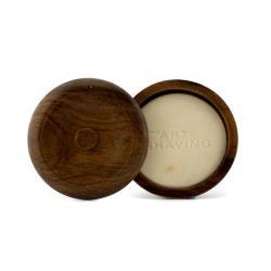 刮鬍學問 刮鬍皂/含盒子 Shaving Soap - 檀香木精華油 (適合所有皮膚) 95g/3.4oz