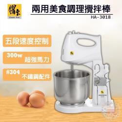 鍋寶 手提/立式兩用食物攪拌機(新款304不鏽鋼) HA-3018