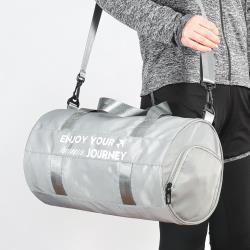 [簡單GO]多功能乾濕分離設計圓筒型手提肩背(大型)運動背包/旅行袋