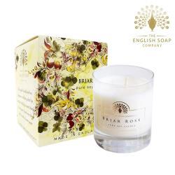 英國 The English Soap Company 薔薇玫瑰 Briar Rose 170g 綴花卉香氛蠟燭