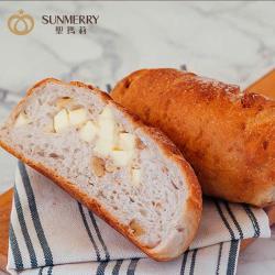 【聖瑪莉】鄉村核桃乳酪麵包x8入