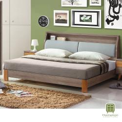 【Hampton 漢汀堡】依耶芙特貓抓皮6尺床箱式雙人床組