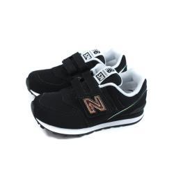 New Balance 574系列 運動鞋 復古鞋 黑色 魔鬼氈 童鞋 YV574MTK-W no849