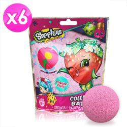 Shopkins兒童泡澡沐浴球60g-六入組