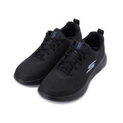 SKECHERS GO WALK 5 綁帶健走鞋 全黑 216011BKBL 男鞋
