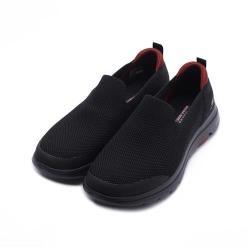 SKECHERS 健走系列 GOWALK 5 套式健走鞋 黑紅 55500BBK 男鞋