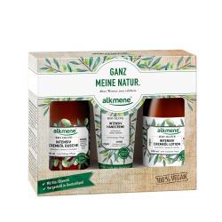 德國alkmene歐珂蔓橄欖加護禮盒3件組(沐浴乳+乳液+護手霜)