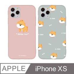 iPhone X/Xs 5.8吋 Chubby大頭柴犬系列iPhone手機殼