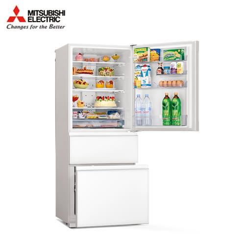 送三明治機★MITSUBISHI三菱450公升一級能效智能變頻三門電冰箱MR-CGX45EP-GWH-C/