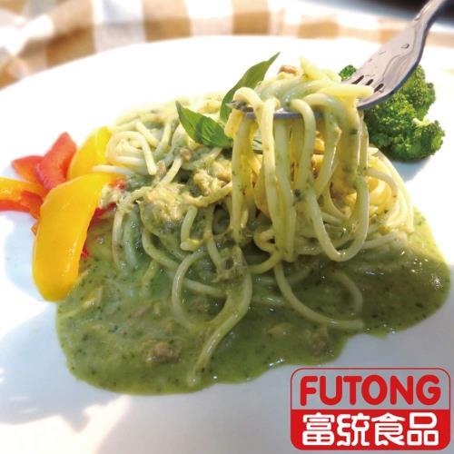 金品亞德里奶青醬鮭魚義大利麵300g/