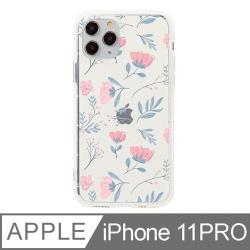 iPhone 11 Pro 5.8吋 晨粉芙蓉設計防摔透明iPhone手機殼