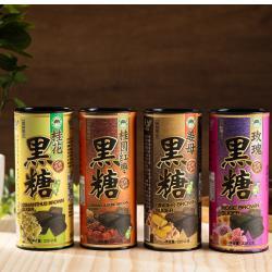 台灣上青 黑糖塊罐裝220G*2罐  任選