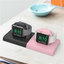 AHAStyle Apple Watch 簡約充電底座(兩組入)