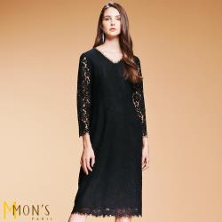MONS法國精品專櫃限量蕾絲洋裝