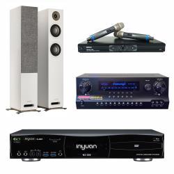 音圓 S-2001 N2-350 專業型卡拉OK點歌機 4TB+DW 1 擴大機+MR-865 PRO 無線麥克風+S 807 主喇叭