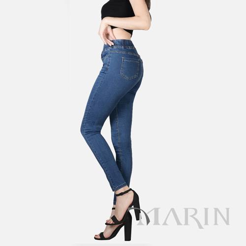 【MARIN】美塑高彈牛仔塑褲