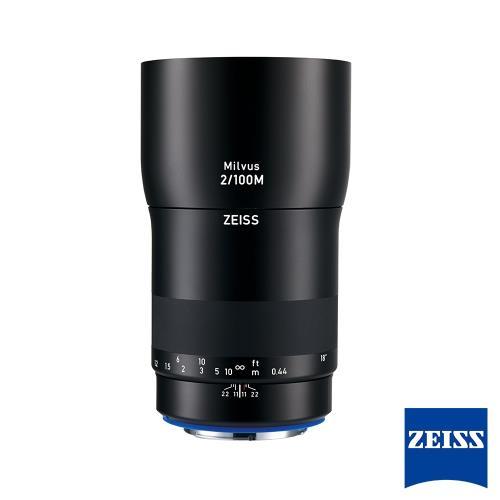 蔡司ZeissMilvus100mmF2.0ZE廣角鏡頭│forCanonEF[公司貨]/