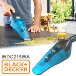美國百工BLACK+DECKER 可吸水 無線手持吸塵器WDC215WA