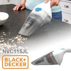 美國百工 BLACK+DECKER 輕巧手持 無線吸塵器 NVC115JL