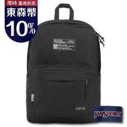 【JANSPORT】RECYCLED SUPERBREAK 系列後背包 -黑(JS-43801)
