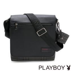 PLAYBOY- 翻蓋書包  City系列 -黑色