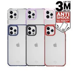 ITSKINS iPhone 12/mini/Pro/Pro Max HYBRID CLEAR-防摔保護殼