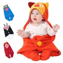 嬰兒包巾-造型分腿睡袋 多功能保暖抱毯 蓋被