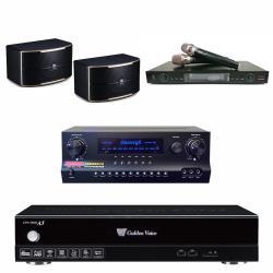 金嗓 CPX-900 A5電腦伴唱機 4TB+DW 1 擴大機+LM-750 無線麥克風+JBL PASION 8 主喇叭