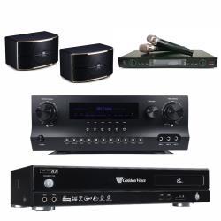金嗓 CPX-900 R2電腦伴唱機 4TB+DW 1 擴大機+LM-750 無線麥克風+JBL PASION 8 主喇叭