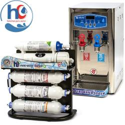 hc 泓泉淨水 - 前置RO型淨水器不銹鋼溫熱飲水機 - AF-HC-5LH