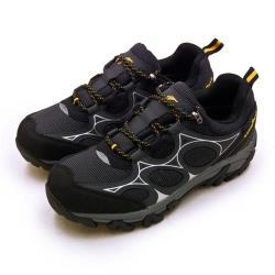 【GOODYEAR 固特異】男 專業多功能郊山防水戶外越野鞋 探索森林系列(黑灰銀 93570)