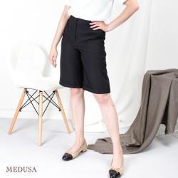 現貨【MEDUSA 曼度莎】口袋波浪造型短寬褲