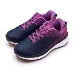 【GOODYEAR 固特異】女 專業動能緩震慢跑鞋 K1-ENERGY能量系列(藍紫 82207)